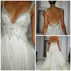 Pnina Tornai Wedding Dress. Love it!  http://sussle.org/t/Wedding_dress