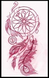 Dreamcatcher Tattoo Design By ~thirteen7S On Deviantart I Absolutely Love How The Sun And Planets Are In The Center!!! Such An Awesome Idea!!! Addition To My Own?!?