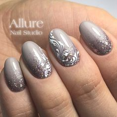 Best Ideas to Make Your Oval Nails Even More Gorgeous - Nageldesign Nail Art Design Gallery, Best Nail Art Designs, Gel Nail Designs, Beautiful Nail Designs, Cute Nails, Pretty Nails, My Nails, Shellac Nails, Acrylic Nails