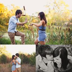 Gracenote Photography » Blog #engagement #session #shoot #fun #hip #country #downtown #cute #evening #dancing #meadow #unique #couple