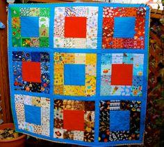 i spy quilt | Carin from Margaret's Hope Chest used her I Spy blocks