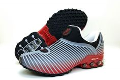 uk availability cb44f 75761 cheap Nke Air Max Plus v 50 Cent Shox KPU Grey Red Black , Shop Nike