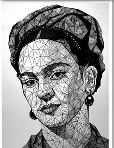 Frida mosaico