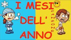 CANZONE-I MESI DELL'ANNO-di R. Giorgi-E. Storchi- speciale anno-con test... Canti, Dads, Family Guy, Youtube, Fictional Characters, Weather, Calendar, Spring, Fathers
