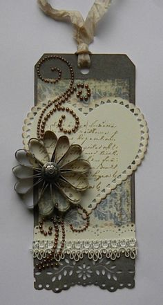 ~  Beautiful Tag!!!  Wendy Schultz via Lisa Sheldon onto TAGS.