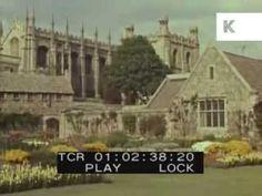 Drive Through Oxford, UK, 1950s/60s, University, Oxbridge - YouTube
