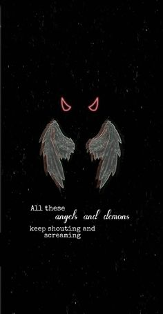 Angels and Demons by Jxdn wallpaper