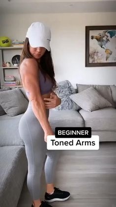 Gym Workout For Beginners, Gym Workout Tips, Fitness Workout For Women, Fitness Goals, Workout Videos, Fitness Tips, Fitness Motivation, Beginner Workouts, Arm Workouts