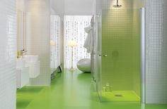 1000 Images About Green Bathroom On Pinterest Green