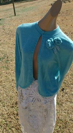 LOVE this sweater! Repurposed from another sweater. :)