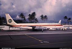 Boeing 707-324C N17324 18887 Honolulu Int'l Airport - PHNL