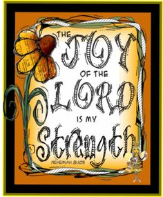 Nehemiah 8:10 Not Just Any Bee - Doodle Art: Our Little Secret....