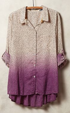 purple ombre buttondown http://rstyle.me/n/nmdinpdpe