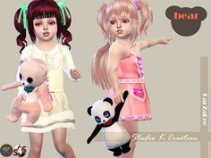 Studio K Creation: Teddy bear toy for toddler • Sims 4 Downloads