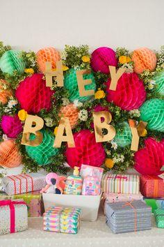 Mesa de regalos baby shower target