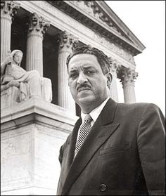 Supreme Court Justice Thurgood Marshall for showing the world that separate but…