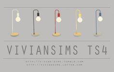 Desk Lamp 01  Download:HereDesk Lamp 02  Download:Here