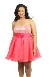 Junior Plus Size Party Dresses | DebShops.com Style* looks I love** | Big Fashion Show plus size party dresses