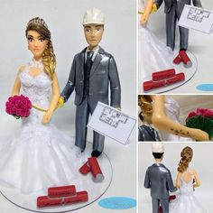 💖 #noivinhospersonalizados 💖 #engenheiro #topodebolo #weddingcake #noiva #noivinhosdobolo #tattoo #tatuagem #noivinhos #casamento ❤️ #bolodecasamento #topodebolopersonalizado #caraarteembiscuit #noivinhosdiferentes #weddingday #weddingdress #vestidodenoiva #buquepink #plantabaixa #weddings #weddingcaketopper #topodebolocasamento #enfeitedebolodebiscuit #biscuit #casar 😍 Orçamentos: caraarteembiscuit@yahoo.com.br, ou envie uma mensagem inbox na página https://facebook.com/caraarteembiscuit