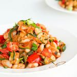 Ratatouille with Zucchini and White Beans