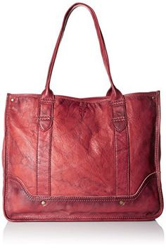 New Trending Shopper Bags: FRYE Campus Shopper Tote Handbag,Burnt Red,One Size. FRYE Campus Shopper Tote Handbag,Burnt Red,One Size  Special Offer: $338.24  400 Reviews Dual shoulder straps. Hook closure. Interior lining with back wall zipper pocket and multifunction slip pockets. Platform bottom with feet to protect the bag when set down. Holds your wallet,...
