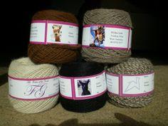 100% alpaca yarn made in the only spinning mill in Western Australia Meet the alpaca whose fleece was used to make your yarn www.thefibreofthegods.com 08 9574 5577 $22per 100 gram ball $12 per 50gram ball