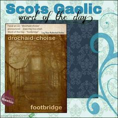 Scottish Words, Scottish Quotes, Scottish Gaelic, Gaelic Words, Irish Language, Language Lessons, Word Of The Day, Outlander, Good To Know