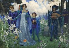 the song of love_Harry George Theaker