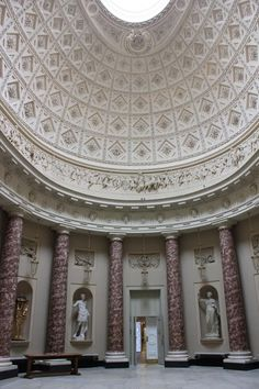 Marble Hall Stowe School. Neo-Classical