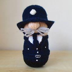 PC Pemberton, knitting pattern by Amanda Berry