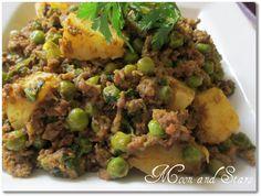 الكيما الهندية بالبطاطس و البازيلا...لملف البطاطس