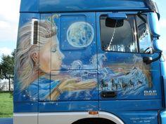 Airbrush, Murals, Trucks, Truck, Wall Murals, Track, Cars