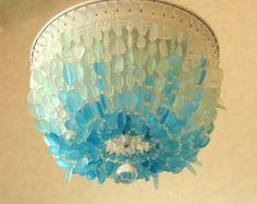 Accesorio de techo de cristal de mar AQUA por CoastalRadianceLites