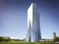 Central Bank of Azerbaijan, Bakou, 2014 - Coop Himmelb(l)au