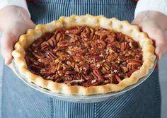 Bourbon Ginger Pecan Pie Z