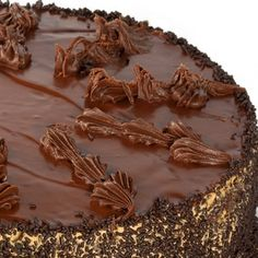 This is a chocolate ganache frosting recipe. Keva xo.