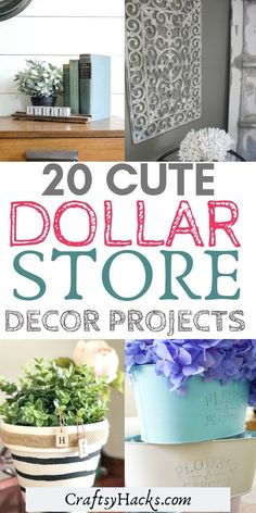 Want dollar tree farmhouse decor at home? Try these dollar tree ideas and improve your home design on a small budget. #dollartree #homedecor #dollarstore