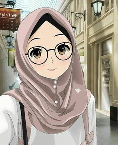 This domain may be for sale! Cool Anime Girl, Kawaii Anime Girl, Anime Art Girl, Girl Cartoon, Cartoon Pics, Cartoon Art, Anime Tomboy, Islamic Cartoon, Anime Muslim