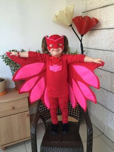 Owlette costume/mask. Inspired by PJ Masks by VickyVickycrafts