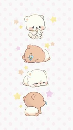 Pin by veve on webtoon рисунки, чиби, милые рисунки Cute Disney Wallpaper, Kawaii Wallpaper, Cute Cartoon Wallpapers, Baby Cartoon Drawing, Baby Drawing, Cute Bear Drawings, Cute Kawaii Drawings, Walpapers Cute, Griffonnages Kawaii