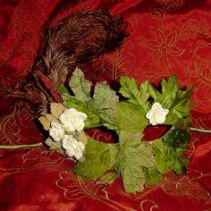 make a felt mask Nymph Costume, Fish Costume, Tree Costume, Holidays Halloween, Halloween Themes, Halloween Costumes, Renaissance, Wood Nymphs, Carnival