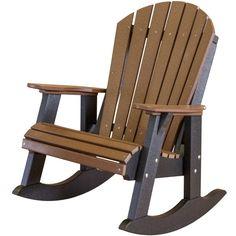 Little Cottage Co. Heritage Fan Back Rocking Chair Plastic - LCC-115