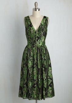 Occasion Elation Dress in Emerald, #ModCloth