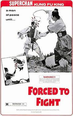 Forced To Fight - 1971 - Movie Poster