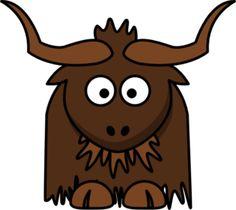 Vector drawing of cartoon lemming. Brown graphics of small animal cartoon style drawing. Cute Cartoon Animals, Baby Elephant, Cartoon Styles, Public Domain, Cartoon Drawings, Online Art, Alphabet, Clip Art, Illustration