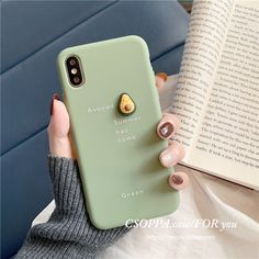 TPU Cute Three-Dimensional Avocado iphone Phone Case is fashionable and cheap, come to NewChic to see more trendy TPU Cute Three-Dimensional Avocado iphone Phone Case online. Cute Cases, Cute Phone Cases, Iphone Phone Cases, Phone Covers, Iphone 8, Telephone Iphone, Cute Avocado, Aesthetic Phone Case, Accessoires Iphone