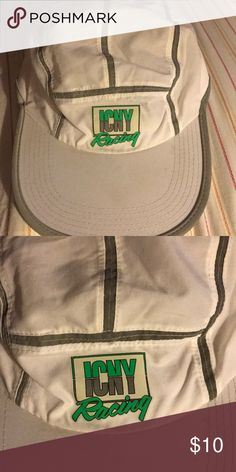 ICNY Reflective Man's Hat Pre-Owned Good Condition Worn only once.  Clean ICNY Accessories Hats