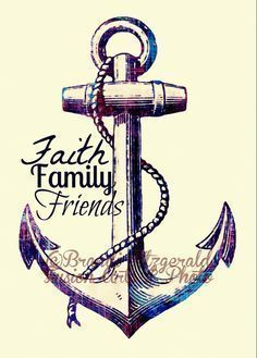 Family Is My Anchor By Sarah Sanke Beach House Family Quotes