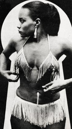 Burlesque dancer Ethelyn Butler c. 1955