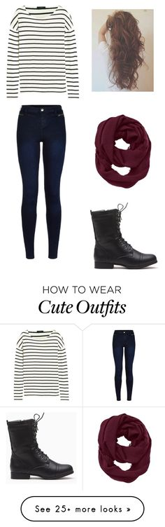 """""""cute fall outfit"""" by mariah-rose1 on Polyvore featuring J.Crew, Athleta and Urban Bliss"""